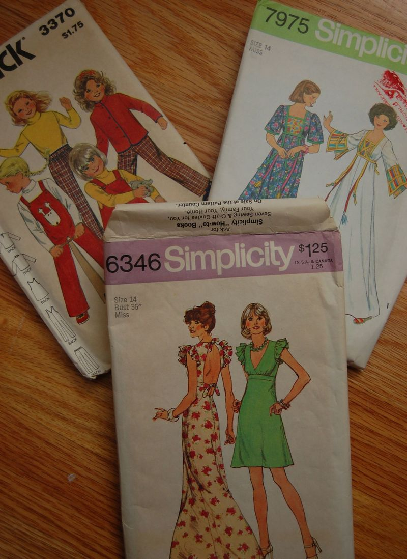 Womens vintage patterns