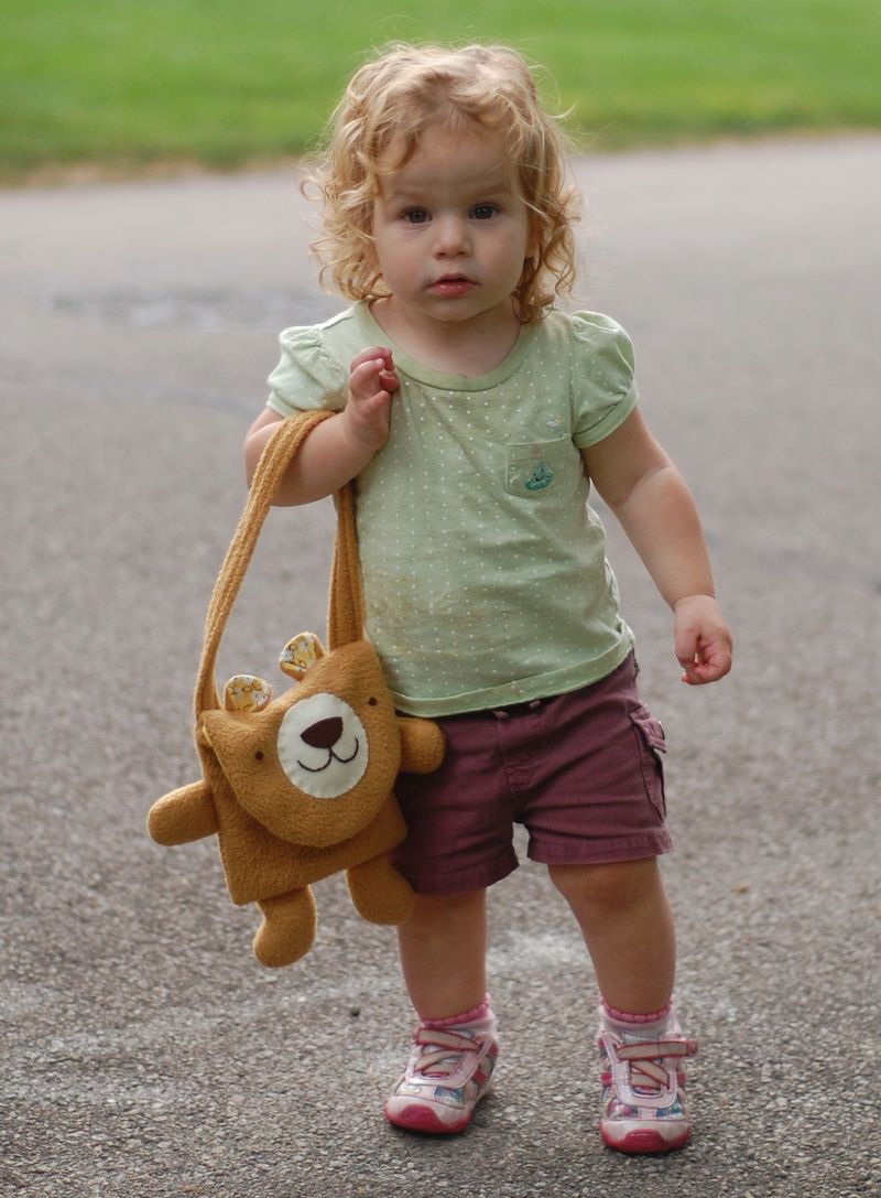 Baby and Bear Bag