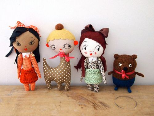 4 Dolls by Jess Quinn