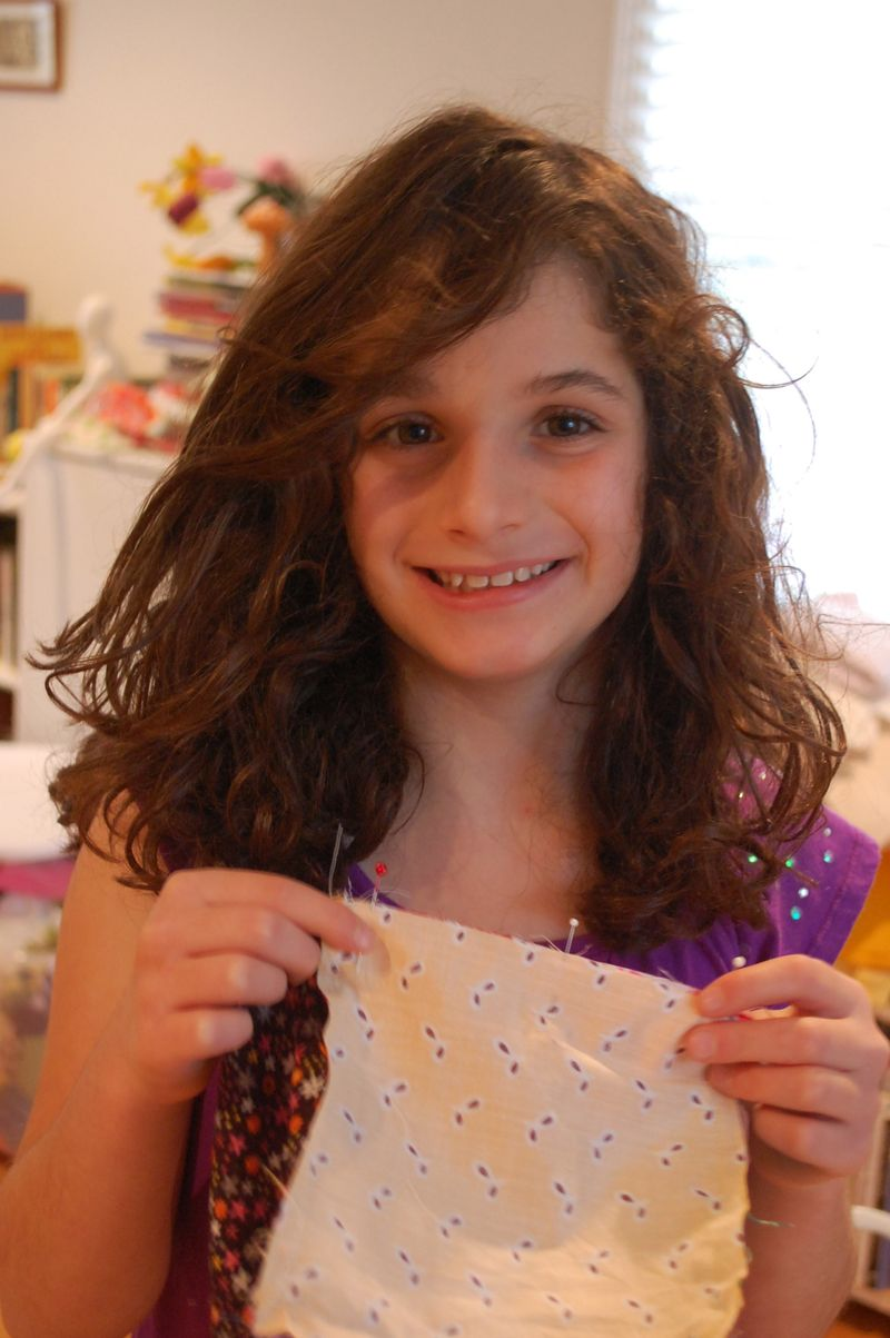 Child pinning fabric