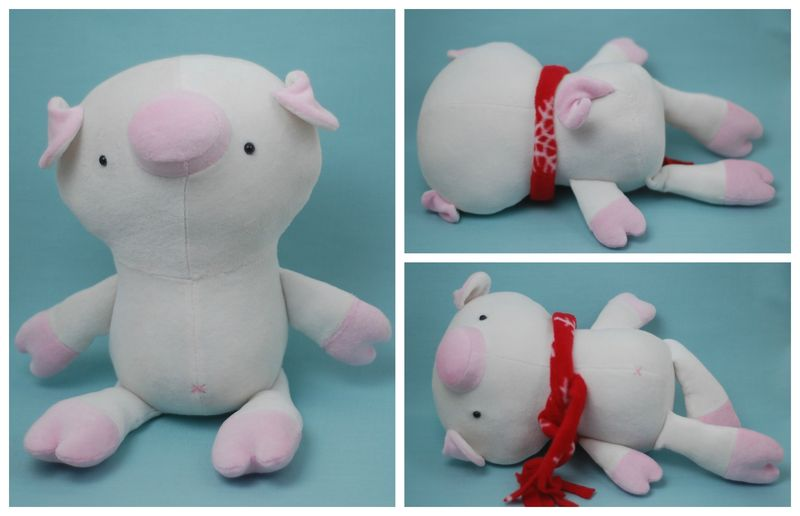 Pip the Pig Collage