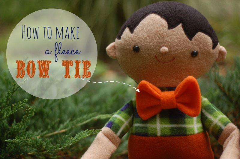 Fleece Bowtie DIY