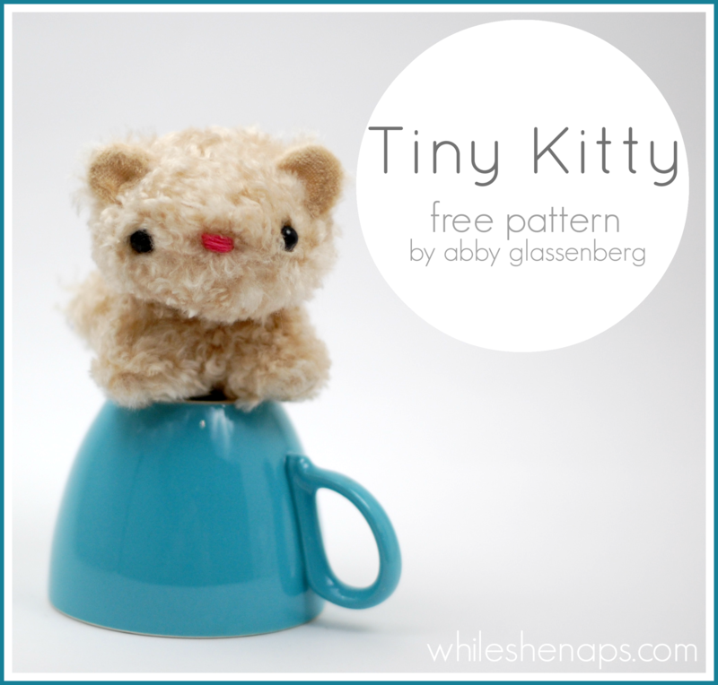 Tiny Kitty pattern