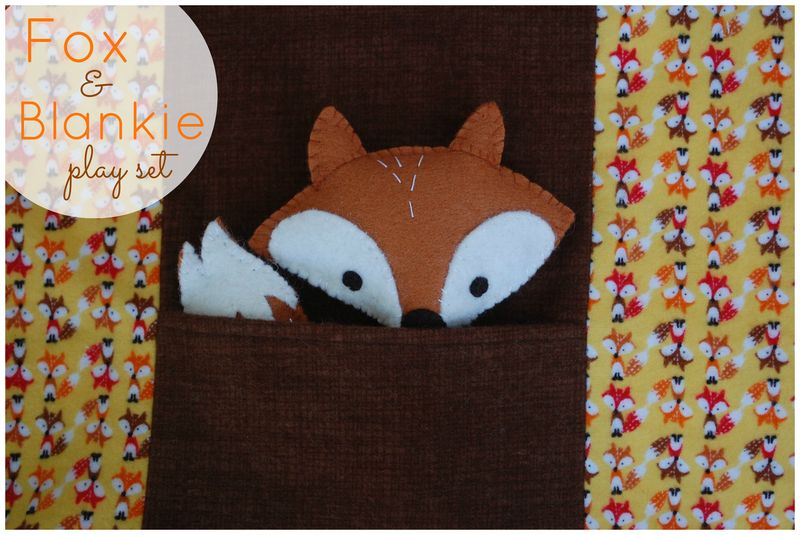 Fox and Blankie Playset