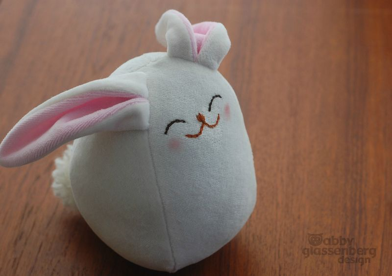 Easter Bunny Stuffed Tutorial