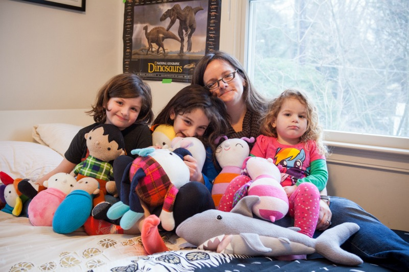 Abby and Kids With Toys